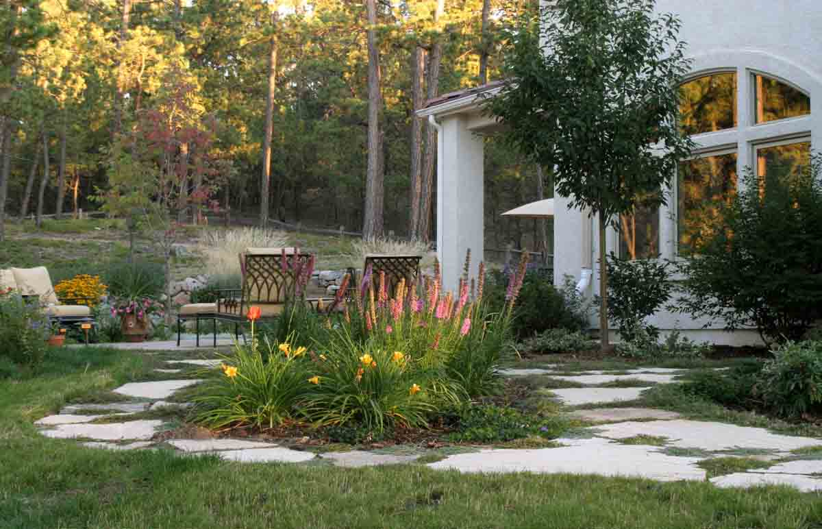 Colorado landscape designer helping you turn colorado for Outside landscape design